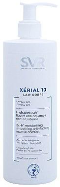 Körpermilch mit Harnstoff für sehr trockene und schuppige Haut - SVR Xerial 10 Lait Corps  — Bild N5