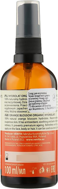Orangenblütenhydrolat für fettige und empfindliche Haut - Venita Bio Natural Care Orange Flower Hydrolate For Oil And Sensative Skin — Bild N2
