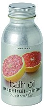 Düfte, Parfümerie und Kosmetik Badeöl Grapefruit-Ingwer - Greenland Fruit Emotion Bath Oil