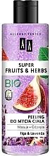 Düfte, Parfümerie und Kosmetik Entspannendes und reinigendes Körperpeeling mit Feige und Lavendel - AA Super Fruits & Herbs