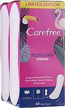 Düfte, Parfümerie und Kosmetik Slipeinlagen 2x40 St. - Carefree Plus Long