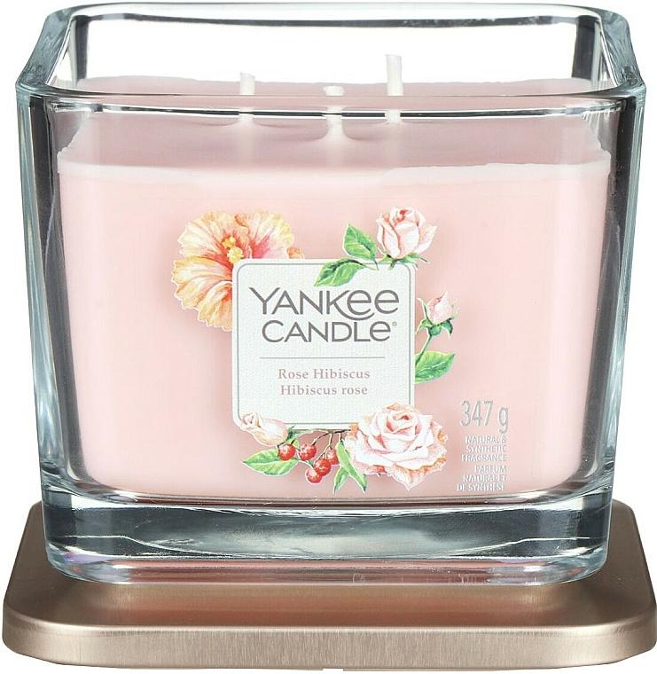 Duftkerze im Glas Rose Hibiscus - Yankee Candle Elevation Rose Hibiscus — Bild N3