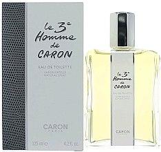 Düfte, Parfümerie und Kosmetik Caron Le 3` Homme de Caron - Eau de Toilette