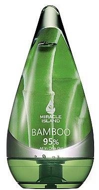 Gel für Gesicht, Körper und Haare mit Bambus - Miracle Island Bamboo 95% All In One Gel — Bild N1