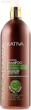 Feuchtigkeitsspendendes Shampoo für normales und strapaziertes Haar - Kativa Macadamia Hydrating Shampoo — Bild N5