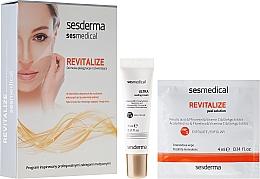 Düfte, Parfümerie und Kosmetik Revitalisierende Gesichtspflege - Sesderma Sesmedical Revitalize Personal Peeling Program (Ultra stärkende Creme/15ml + Peelingtücher/4x4ml)