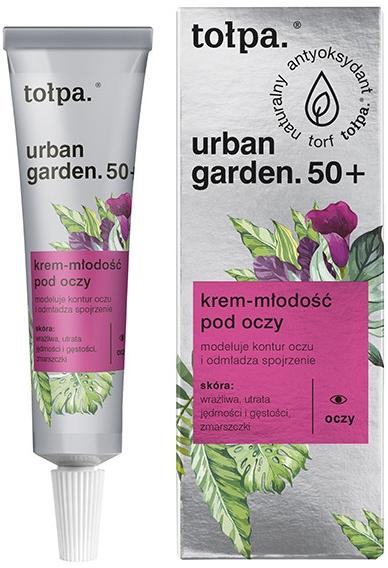 Verjüngende Augencreme 50+ - Tolpa Urban Garden 50+ Eye Cream — Bild N1