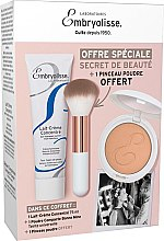 Düfte, Parfümerie und Kosmetik Gesichtspflegeset - Embryolisse Set Beauty Secret (Gesichtscreme 75ml + Puder 12g + Make-up Pinsel)