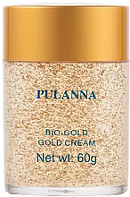 Düfte, Parfümerie und Kosmetik Gesichts- und Halscreme mit Goldpartikeln - Pulanna Bio-Gold Gold Cream