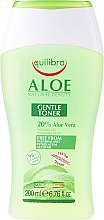 Düfte, Parfümerie und Kosmetik Erfrischendes Gesichtstonikum für normale und Mischhaut - Equilibra Aloe Line Tonic