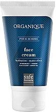 Düfte, Parfümerie und Kosmetik Feuchtigkeitsspendende Gesichtscreme für Männer mit Matteffekt - Organique Naturals Pour Homme Face Cream