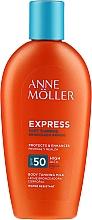Düfte, Parfümerie und Kosmetik Sonnenschutzmilch für schnelle Bräune SPF 50 - Anne Moller Express Sunscreen Body Milk SPF 50