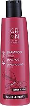 Düfte, Parfümerie und Kosmetik Energiespendendes Shampoo mit Kaffee und Olive - GRN Rich Elements Coffee & Olive Energy Shampoo