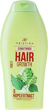 Haarspülung mit Hopfenextrakt für schnelles Wachstum - Hristina Cosmetics Shine Hair Conditioner — Bild N1