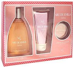 Düfte, Parfümerie und Kosmetik Instituto Espanol Aire de Sevilla Bella - Kosmetikset (Eau de Toilette/150ml + Körpermilch/150ml + Handcreme/50ml)