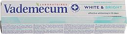 Düfte, Parfümerie und Kosmetik Aufhellende Zahnpasta mit Provitamin Komplex - Vademecum Pro Vitamin Whitening Toothpaste