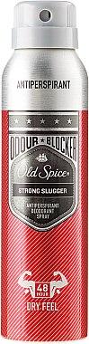 Deospray Antitranspirant - Old Spice Strong Slugger Deo Spray Odour Blocker — Bild N1