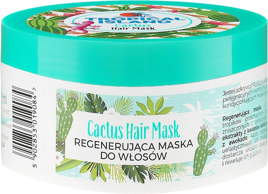 Regenerierende Haarmaske mit Kaktus - Marion Tropical Island Cactus Hair Mask