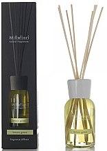 Düfte, Parfümerie und Kosmetik Raumerfrischer Lemon Grass - Millefiori Natural Lemon Grass Reed Diffuser