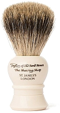 Düfte, Parfümerie und Kosmetik Rasierpinsel P2233 beige - Taylor of Old Bond Street Shaving Brush Pure Badger size S