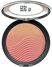 Düfte, Parfümerie und Kosmetik Mattes Gesichtsrouge mit Ombréeffekt - Make Up Factory Design Ombre Blusher