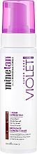 Düfte, Parfümerie und Kosmetik Selbstbräunungsschaum mit feuchtigkeitsspendenden Ölen und Antioxidantien - MineTan 1 Hour Tan Violet Self Tan Foam