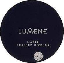 Düfte, Parfümerie und Kosmetik Mattierender Kompaktpuder - Lumene Matte Pressed Powder