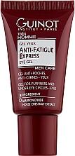 Düfte, Parfümerie und Kosmetik Augengel gegen dunkle Augenringe mit Rosskastanien-Extrakt - Guinot Gel Yeux Defatigant Express