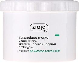 Düfte, Parfümerie und Kosmetik Exfolierende Gesichtsmaske mit Algen - Ziaja Pro Exfoliating Mask