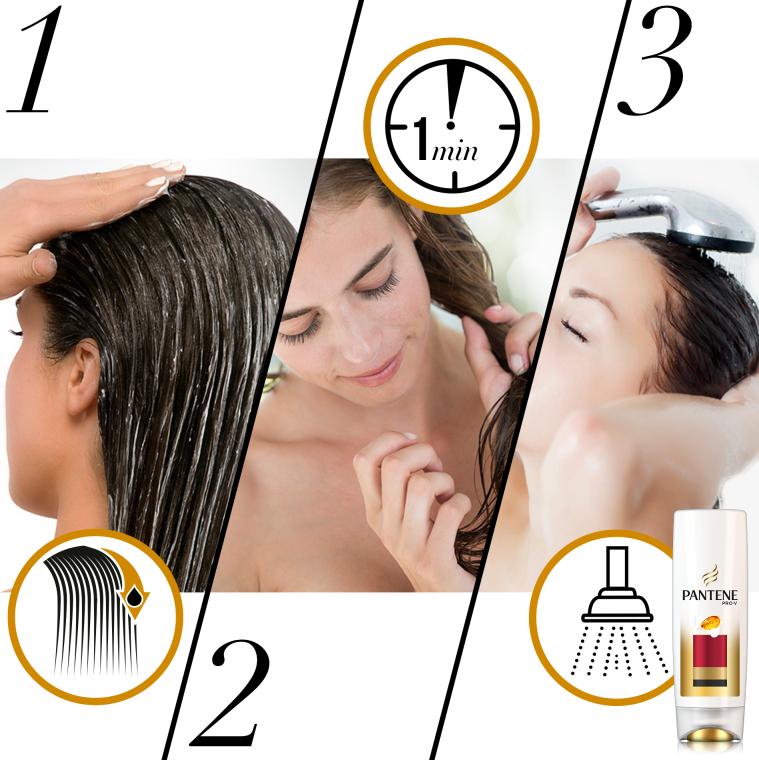Haarspülung für gefärbtes Haar - Pantene Pro-V Lively Color Conditioner — Bild N3