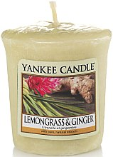 """Düfte, Parfümerie und Kosmetik Duftkerze """"Zitronengras und Ingwer"""" - Yankee Candle Scented Votive Lemongrass & Ginger"""