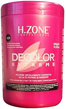 Aufhellendes Haarpulver - H.Zone Decolor Extreme — Bild N1