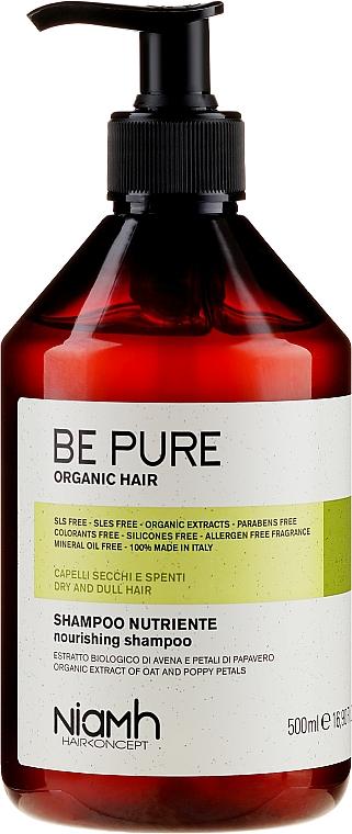 Aufbauendes Shampoo für schwaches Haar mit Haferextrakt - Niamh Hairconcept Be Pure Nourishing Shampoo — Bild N1