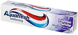 Düfte, Parfümerie und Kosmetik Aufhellende Zahnpasta Intense White - Aquafresh Whitening Intense White Toothpaste