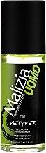 Düfte, Parfümerie und Kosmetik Parfümiertes Deospray - Malizia Uomo Vetyver Natural Deodorant Spray