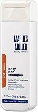 Düfte, Parfümerie und Kosmetik Pflegendes Creme-Shampoo für täglichen Gebrauch - Marlies Moller Softness Daily Rich Shampoo