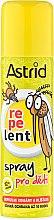 Düfte, Parfümerie und Kosmetik Schützendes Spray gegen Mücken und Zecken für Kinder - Astrid Repelent Spray