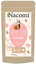 "Düfte, Parfümerie und Kosmetik Kaffee-Peeling für den Körper ""Keks"" - Nacomi Coffee Scrub Cookie"