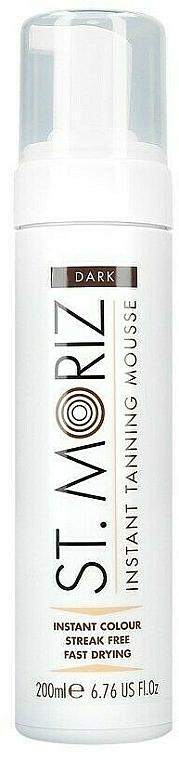 Selbstbräunungsmousse für den Körper dunkel - St. Moriz Instant Tanning Mousse Dark