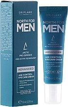 Düfte, Parfümerie und Kosmetik Anti-Aging Augencreme für Männer - Oriflame North For Men Advanced Age Control Eye Care Cream