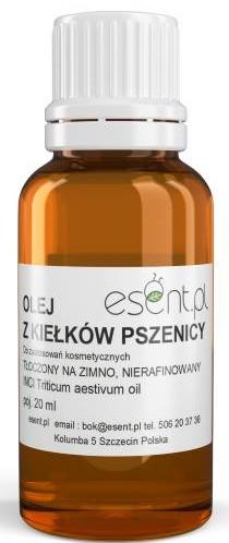 Unraffiniertes kaltgepresstes Weizenkeimöl - Esent Natural Wheat Germ Oil — Bild N1