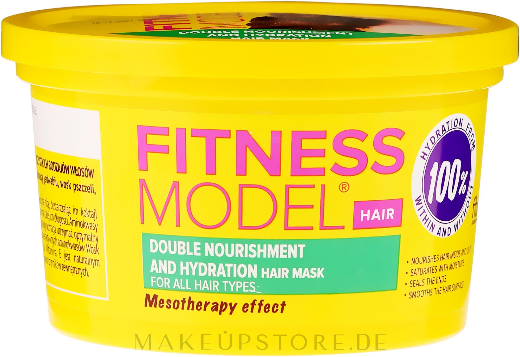 """Feuchtigkeitsspendende Haarmaske """"Doppelte Pflege"""" - Fito Kosmetik Fitness Model — Bild 250 ml"""