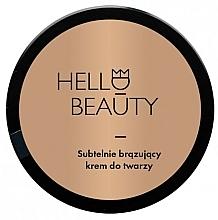 Düfte, Parfümerie und Kosmetik Gesichtscreme mit Bronzeeffekt - Lullalove Face Cream With Light Bronzing Effect