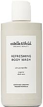 Düfte, Parfümerie und Kosmetik Erfrischende Körperwäsche mit Aloe Vera - Estelle & Thild Citrus Menthe Refreshing Body Wash