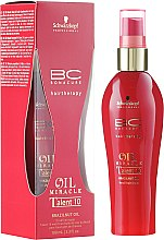 Düfte, Parfümerie und Kosmetik Haarspray Talent 10 mit Paranussöl - Schwarzkopf Professional BC Bonacure Oil Miracle Brazilnut Talent 10 Leave-In Treatment