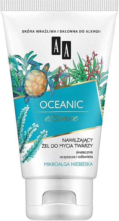 Feuchtigkeitsspendendes Gesichtsreinigungsgel mit blauen Mikroalgen - AA Oceanic Essence — Bild N1