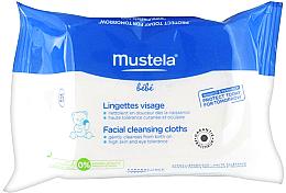Düfte, Parfümerie und Kosmetik Reinigungstücher für das Gesicht - Mustela PhysiObebe Facial Cleansing Cloths