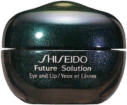 Anti-Aging Augen- und Lippencreme - Shiseido Future Solution Eye and Lip Contour Cream  — Bild N1