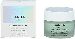Düfte, Parfümerie und Kosmetik Mattierende und klärende Gesichtscreme - Carita Ideal Controle La Creme Controle Purifying Mattifying