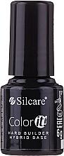 Düfte, Parfümerie und Kosmetik Hybrid-Nagellack Base - Silcare Color It Premium Hardi Builder Hybrid Base